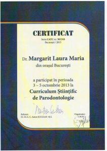 Curriculum-Stiintific-de-Parodontologie