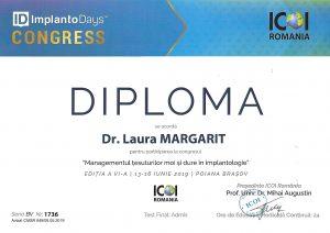 diploma curs implantologie orala