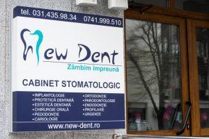 reclama new dent cabinet medicina dentara